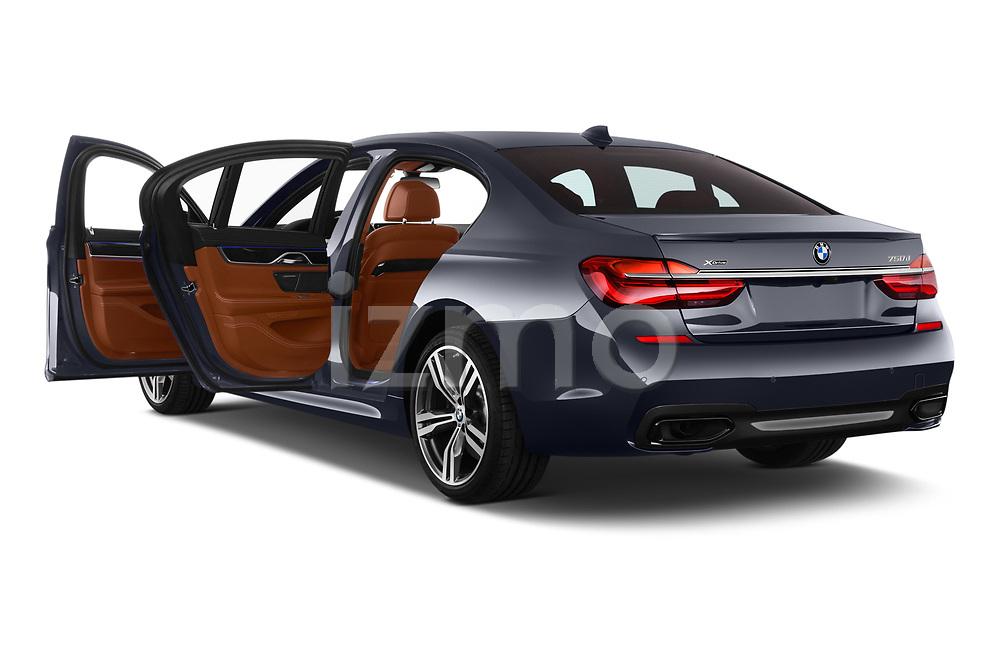 Car images close up view of a 2018 BMW 7 Series M Sport 4 Door Sedan doors