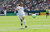 LA Sol's Marta chases a ball. The LA Sol defeated FC Gold Pride of the Bay Area 1-0 at Home Depot Center stadium in Carson, California on Sunday April 19, 2009.  ..  .