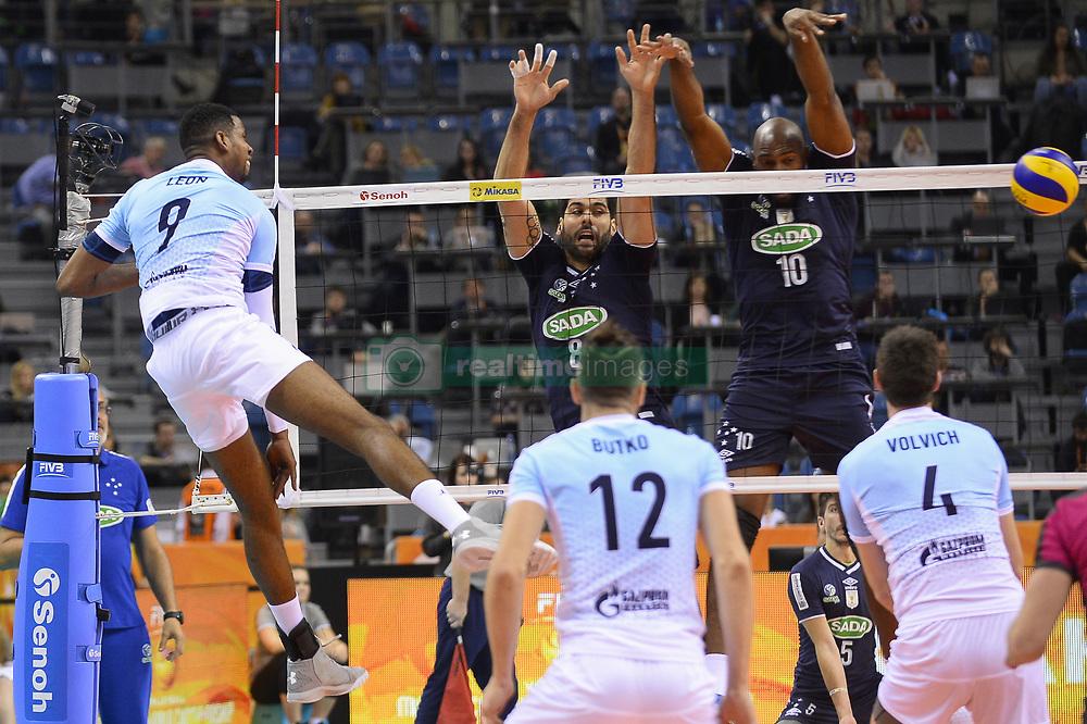 Men S Volleyball 2017 Zenit Kazan 3 0 Sada Cruzeiro Realtime Images