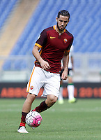 Calcio, Serie A: Roma vs Sassuolo. Roma, stadio Olimpico, 20 settembre 2015.<br /> Roma's Kostas Manolas in action during the Italian Serie A football match between Roma and Sassuolo at Rome's Olympic stadium, 20 September 2015.<br /> UPDATE IMAGES PRESS/Isabella Bonotto