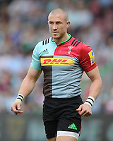 Mike Brown of Harlequins looks on during the Aviva Premiership match between Harlequins and Exeter Chiefs at The Twickenham Stoop on Saturday 7th May 2016 (Photo: Rob Munro/Stewart Communications)