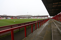General view of the ground during Stevenage vs Hull City, Emirates FA Cup Football at the Lamex Stadium on 29th November 2020
