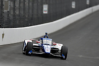 28th May 2021; Indianapolis, Indiana, USA;  NTT Indy Car Series car driver Tony Kanaan (48) drives into turn one as he prepares for the 105th running of the Indianapolis 500