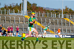 Kieran McCarthy, Kilmoyley during the Kerry County Senior Hurling Championship Final match between Kilmoyley and Causeway at Austin Stack Park in Tralee