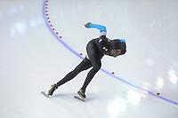 SCHAATSEN: CALGARY: Olympic Oval, 08-11-2013, Essent ISU World Cup, 1500m, Shani Davis (USA), ©foto Martin de Jong