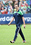 Limerick's Paul Kinnerk, who once worked with the opposition side before their Munster championship game against Clarecastle in Ennis. Photograph by John Kelly.