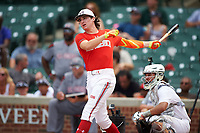 Ryan Vilade (4) of Frisco High School in Frisco, Texas during the home run derby before the Under Armour All-American Game presented by Baseball Factory on July 23, 2016 at Wrigley Field in Chicago, Illinois.  (Mike Janes/Four Seam Images)