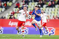 11.10.2020 Danzica Nations League Gruppo A Polonia Italia  GAME POLAND - ITALY  NZ KAMIL GLIK FOTO LUKASZ GROCHALA/CYFRASPORT / NEWSPIX.PL --- Newspix.pl PUBLICATIONxNOTxINxPOL 20201011CSLG0036 <br /> ITALY ONLY