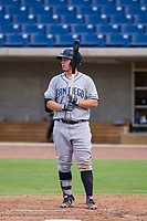 AZL Padres 2 first baseman Justin Paulsen (26) at bat against the AZL Brewers on September 2, 2017 at Maryvale Baseball Park in Phoenix, Arizona. AZL Brewers defeated the AZL Padres 2 2-0. (Zachary Lucy/Four Seam Images)