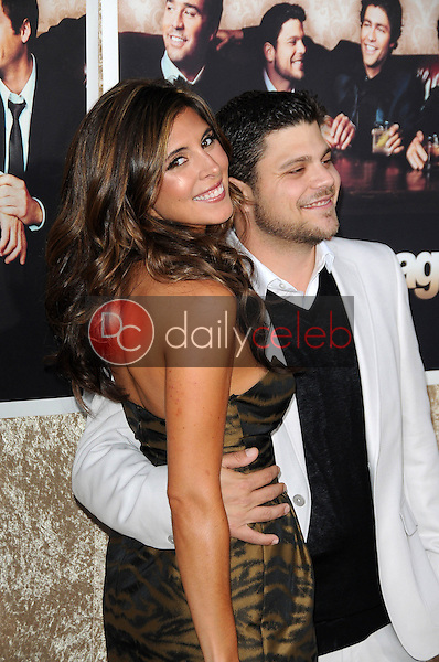 Jerry Ferrara and Jamie-Lynn Sigler<br />