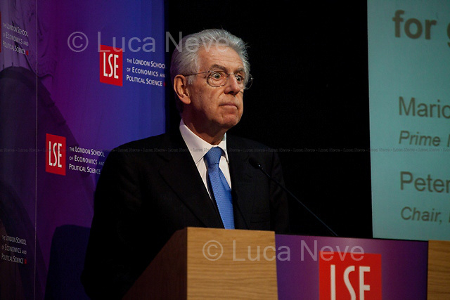 """Mario Monti, Italian Prime Minister. <br /> <br /> For more pictures on this event click here: <a href=""""http://bit.ly/Rr24xd""""> http://bit.ly/Rr24xd</a>"""