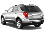 Rear three quarter view of a 2012 Chevrolet Equinox LT