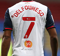 Bolton Wanderers' Nathan Delfouneso<br /> <br /> Photographer Stephen White/CameraSport<br /> <br /> The EFL Sky Bet League Two - Bolton Wanderers v Oldham Athletic - Saturday 17th October 2020 - University of Bolton Stadium - Bolton<br /> <br /> World Copyright © 2020 CameraSport. All rights reserved. 43 Linden Ave. Countesthorpe. Leicester. England. LE8 5PG - Tel: +44 (0) 116 277 4147 - admin@camerasport.com - www.camerasport.com