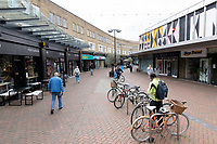 BNPS.co.uk (01202) 558833<br /> Pic: WillDax/BNPS<br /> <br /> A complex of ten small independent businesses that are not paying rent or business rates could hold the answer for saving the British high street.<br /> <br /> Kingland is an ambitious initiative aimed at breathing new life into the struggling town centre in Poole, Dorset, which people said had become like a 'ghost town'.<br /> <br /> The new development has been billed as a 'boutique shopping experience' and the owners of the small independents do not have to pay any rent or business rates for the first two years.<br /> <br /> The shops offer a diverse range with a fishmonger, zero waste grocery store, custom surfboard maker, coffee shop, gallery, restored furniture shop, fragrance shop, plant and interiors shop, design studio and a gin bar and shop.