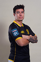 Jackson Garden-Bachop. 2021 Wellington Lions official rugby headshots at Rugby League Park in Wellington, New Zealand on Monday, 26 July 2021. Photo: Dave Lintott / lintottphoto.co.nz