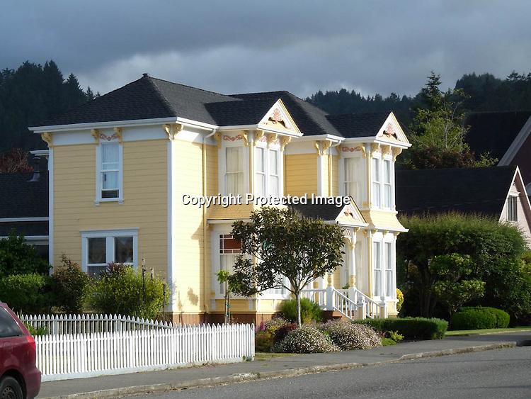 Victorian Houses Ferndale California
