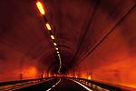 Italien, Suedtirol: Tunnel auf der Brenner Autobahn zwischen Sterzing und Bozen | Italy, South Tyrol (Trentino - Alto Adige): tunnel between Vipiteno and Bolzano
