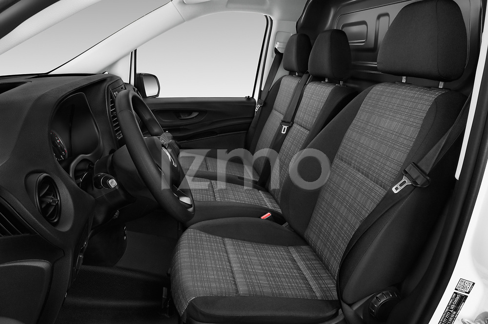 Front seat view of 2019 Mercedes Benz Vito Base 4 Door Car Van Front Seat  car photos