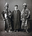 Ottoman Empire 1873  Kurds in traditionnal costume with an orthodox priest     Ottoman Empire  1873 Kurdes en costume traditionnel avec un prêtre orthodoxe