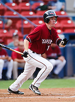 August 1 2008: Brendan Duffy of the Yakima Bears, Short Season Class-A affiliate of the Arizona Diamondbacks, during a game at Home of the Avista Stadium in Spokane, WA.  Photo by:  Matthew Sauk/Four Seam Images