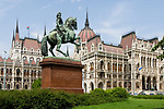 HUN, Ungarn, Budapest, Stadtteil Pest, das Parlamentsgebaeude, UNESCO Weltkulturerbe | HUN, Hungary, Budapest, DistrictPest, Parliament, UNESCO World Heritage