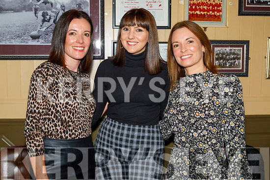 Joyce McCannon, Amanda and Claire Leahy enjoying the evening in the Mall Tavern on Saturday.