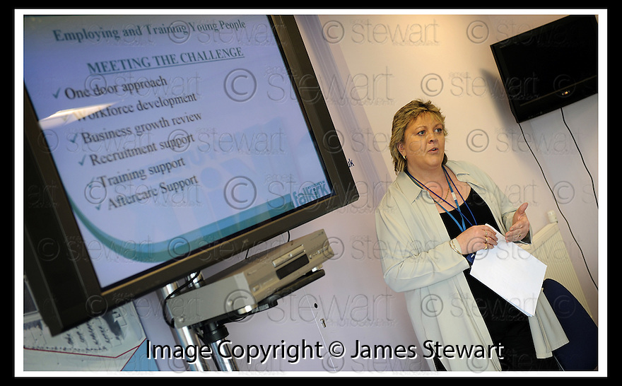 01/05/2008   Copyright Pic: James Stewart.File Name : 29_business_fair.FALKIRK BUSINESS FAIR 2008.PAMELA SMITH :: FALKIRK COUNCIL EDUCATION TRAINING UNIT.James Stewart Photo Agency 19 Carronlea Drive, Falkirk. FK2 8DN      Vat Reg No. 607 6932 25.Studio      : +44 (0)1324 611191 .Mobile      : +44 (0)7721 416997.E-mail  :  jim@jspa.co.uk.If you require further information then contact Jim Stewart on any of the numbers above........