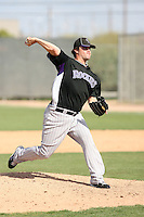 Andy Graham, Colorado Rockies 2010 minor league spring training..Photo by:  Bill Mitchell/Four Seam Images.