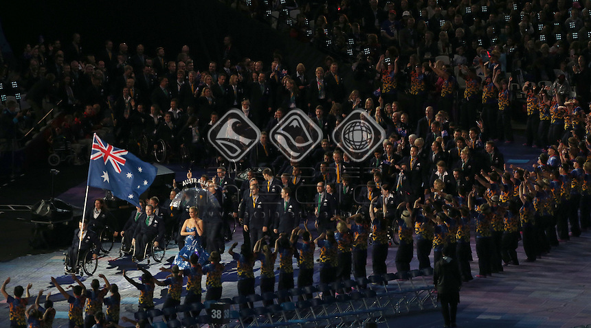 General Paralympic Opening Ceremony Views (AUS)<br /> Opening Ceremony  (Wednesday 29th Aug)<br /> Paralympics - Summer / London 2012<br /> London England 29 Aug - 9 Sept <br /> © Sport the library/Joseph Johnson