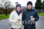 Caroline Reen and Damien O'Riordan enjoying a stroll in the town park in Killarney on Saturday.