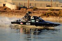 Nov. 22, 2008; Chandler, AZ, USA; IHBA top alcohol hydro driver Kent Price during the Napa Auto Parts World Finals at Firebird Lake. Mandatory Credit: Mark J. Rebilas-