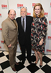Jason Alexander, Hal Prince and Laura Linney attends the 2017 Manhattan Theatre Club Fall Benefit honoring Hal Prince on October 23, 2017 at 583 Park Avenue in New York City.