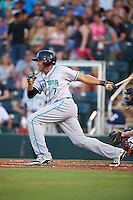 Daytona Tortugas designated hitter Jon Matthews (7) at bat during a game against the Fort Myers Miracle on June 17, 2015 at Hammond Stadium in Fort Myers, Florida.  Fort Myers defeated Daytona 9-5.  (Mike Janes/Four Seam Images)