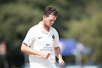 Nathan Sowter of Middlesex CCC during Middlesex CCC vs Hampshire CCC, Bob Willis Trophy Cricket at Radlett Cricket Club on 11th August 2020