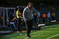 BOGOTA - COLOMBIA, 25-09-2021:  Independiente Santa Fe y Envigado F. C. en partido de la fecha 11 por la Liga BetPlay DIMAYOR II 2021 en el estadio Nemesio Camacho El Campin de la ciudad de Bogota. / Independiente Santa Fe and Envigado F. C. in a match of the 11th date for the BetPlay DIMAYOR II 2021 League at the Nemesio Camacho El Campin Stadium in Bogota city. Photo: VizzorImage / Samuel Norato / Cont