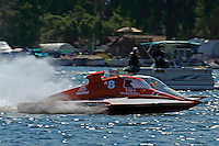 """Tom Bergman, A-8  and Alexis Weber, A-7 """"Southern Magic""""  (2.5 MOD class hydroplane(s)"""