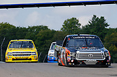 #4: Todd Gilliland, Kyle Busch Motorsports, Toyota Tundra Frontline and #2: Cody Coughlin, GMS Racing, Chevrolet Silverado JEGS.com