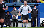 Luton Town 1 Leeds United 1, 26/01/2008. Kenilworth Road, League One. Mick Harford new manager of Luton Town in the dugout. Photo by Simon Gill.