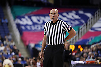 GREENSBORO, NC - MARCH 06: Official Luis Gonzalez during a game between Boston College and Duke at Greensboro Coliseum on March 06, 2020 in Greensboro, North Carolina.