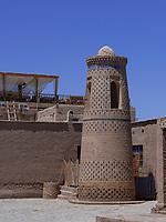 Beim Restaurant Terrassa, Xiva, Usbekistan, Asien, UNESCO-Weltkulturerbe<br /> Near Restaurant Terrassa, historic city Ichan Qala, Chiwa, Uzbekistan, Asia, UNESCO heritage site