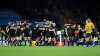 The All Blacks celebrate at the final whistle of the Rugby World Cup Final between New Zealand and Australia - 31/10/2015 - Twickenham Stadium, London<br /> Mandatory Credit: Rob Munro/Stewart Communications