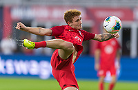 WASHINGTON, DC - OCTOBER 11: Josh Sargent #19 of the United States warms up during a game between Cuba and USMNT at Audi Field on October 11, 2019 in Washington, DC.