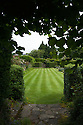 The Bowling Lawn, Upton Grey, Hampshire, mid July.