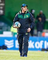 1st October 2021;  The Sportsground, Galway, Ireland; United Rugby Championships, Connacht versus Bulls; f Connacht head coach Andy Friend
