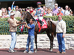 08 April 2011.  #1A Everyday Dave and Jeffrey Sanchez win the first race for Maiden 2 year old colts.  Everyday Dave is from the first crop of foals for sire, Weather Warning standing in Canada.