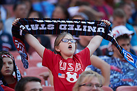 Cleveland, Ohio - Saturday, July 15, 2017: USA supporters during the USMNT vs Nicaragua in CONCACAF Gold Cup 2017 match at First Energy Stadium.