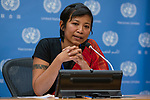 Press Conference on Indigenous Women defending Human Rights<br /> <br /> Speakers:<br /> <br /> Ms. Anne Nuorgam, Expert Member of the UN Permanent Forum on Indigenous Issues<br /> Ms. Rani Yan Yan, Advisor to the Chakma Circle Chief, Bangladesh<br /> Ms. Milka Chepkorir Kuto, Human rights activist, Sengwer, Kenya