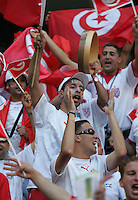 Tunisian Fans. Saudi Arabia and Tunisia played to a 2-2 tie in their FIFA World Cup Group H match at FIFA World Cup Stadium, Munich, Germany, June 14, 2006.