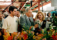 October 1994 File Photo, Montreal (Qc) CANADA<br /> <br /> Andre Boisclair, jacques Parizeau and his wife, October 1994 <br /> photo by Pierre Roussel / Images Distribution