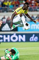 Davison Sanchez of Colombia during the friendly match between Spain and Colombia at Nueva Condomina Stadium in Murcia, jun 07, 2017. Spain. (ALTERPHOTOS/Rodrigo Jimenez) (NortePhoto.com) (NortePhoto.com)